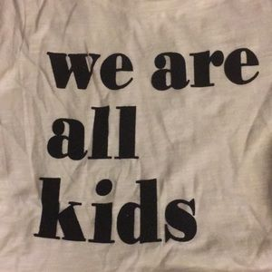 4a29f1d18 H&M Shirts & Tops | Hm We Are All Kids Graphic Tee | Poshmark